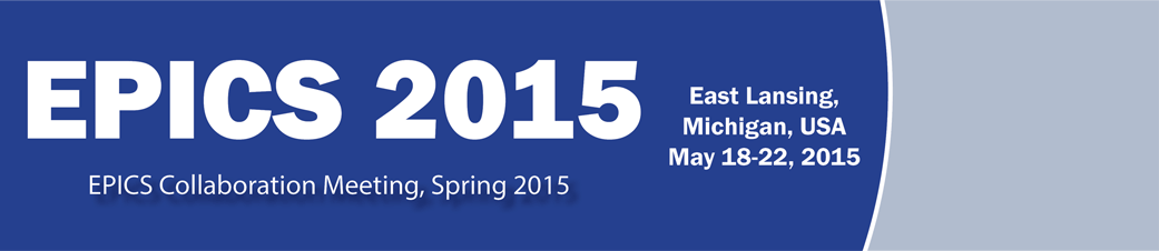 Spring 2015 EPICS Collaboration Meeting